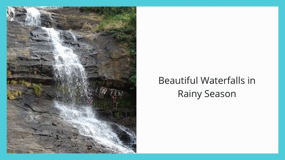 Beautiful Waterfalls in Rainy Season