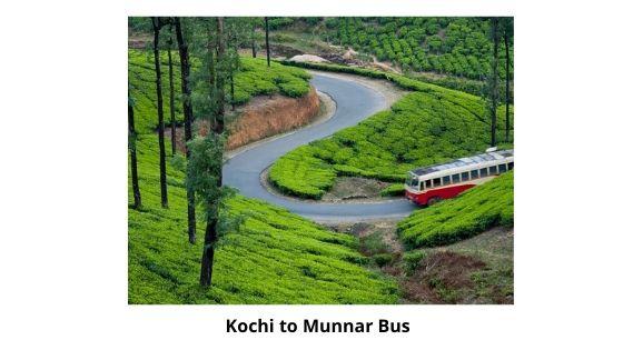 Kochi to Munnar by Bus