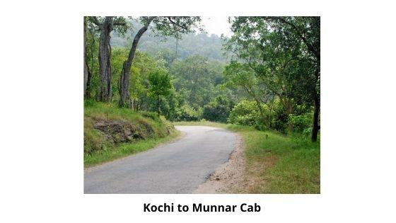 kochi to munnar by cab