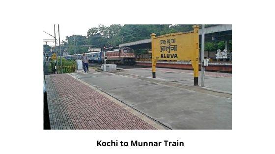 kochi to munnar train