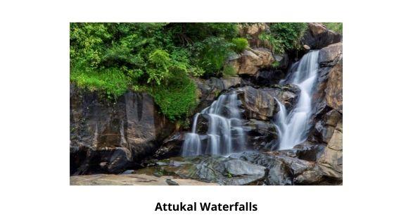 Attukal Waterfalls near me in munnar kerala india