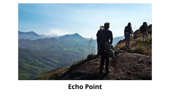Echo point is a tourist spot in munnar kerala india