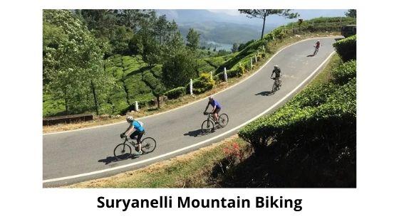 Suryanelli Mountain Biking Tour munnar kerala india