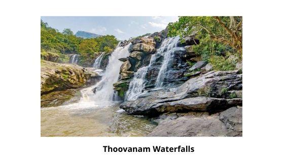 Thoovanam Waterfalls near me in munnar