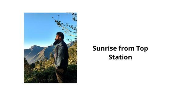 sunrise munnar kerala india