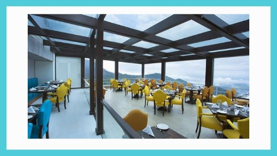Dining Facilities in fragrant nature munnar kerala india