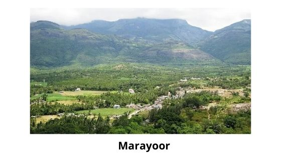 marayoor is one of the Munnar local Sightseeing place
