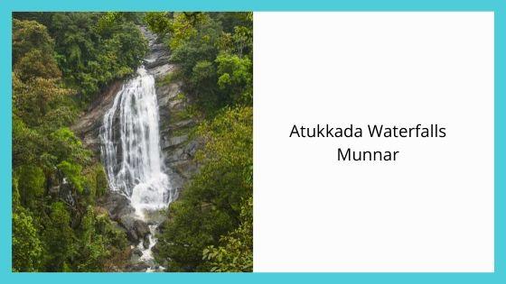 Atukkada Waterfalls Munnar