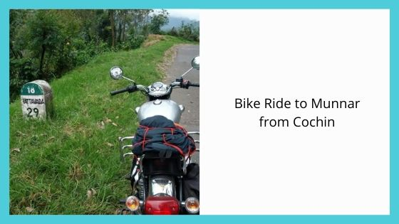 Bike Ride to Munnar from Cochin