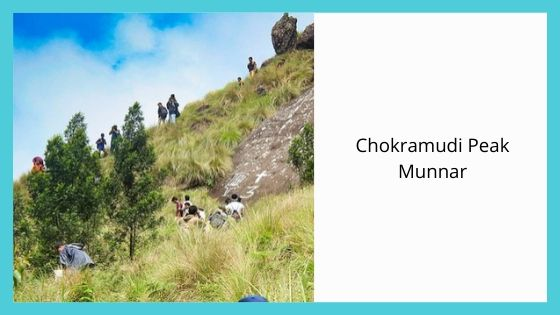 Chokramudi Peak sightseeing places near munnar kerala india