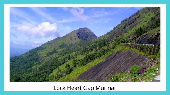 Lock Heart Gap sightseeing places near munnar kerala india