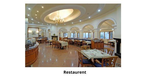 Restaurent tea county Munnar resort kerala india