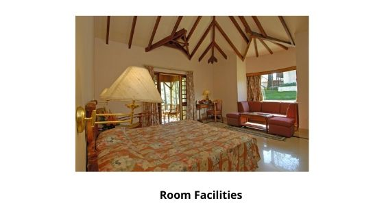 Room Facilities tea county Munnar resort kerala india