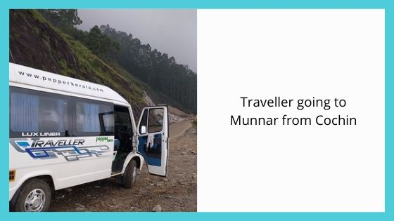 Traveller going to Munnar from Cochin