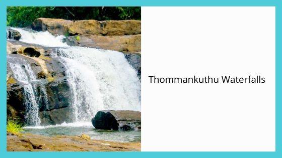 Thommankuthu Waterfalls munnar idukki kerala india